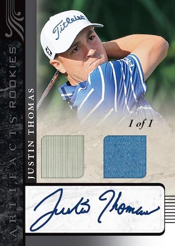 2021 Upper Deck Artifacts Golf Cards - Checklist Added 4