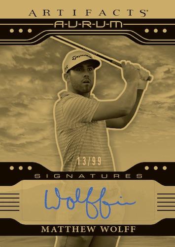 2021 Upper Deck Artifacts Golf Cards 3