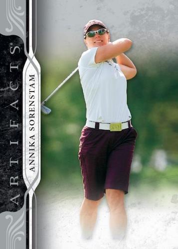2021 Upper Deck Artifacts Golf Cards 1