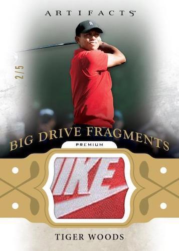 2021 Upper Deck Artifacts Golf Cards - Checklist Added 10