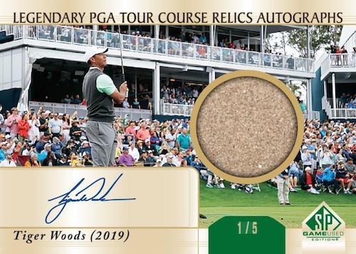 2021 Upper Deck Artifacts Golf Cards 7