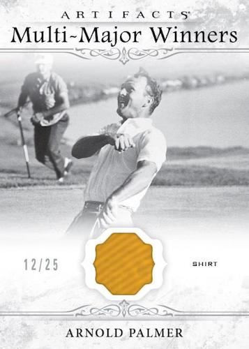 2021 Upper Deck Artifacts Golf Cards - Checklist Added 11