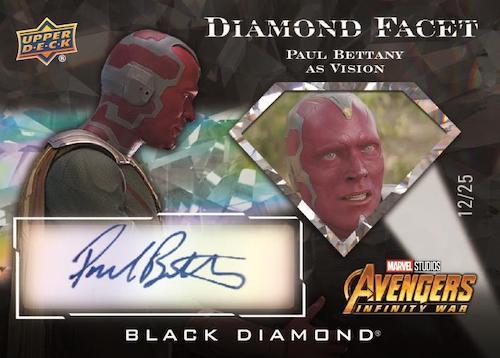 2021 Upper Deck Marvel Black Diamond Trading Cards 4