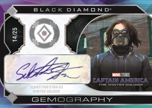 2021 Upper Deck Marvel Black Diamond Trading Cards 8
