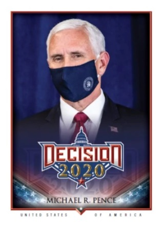 Decision 2020 Political Trading Cards 4