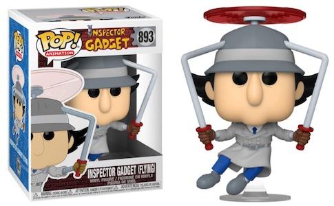 Funko Pop Inspector Gadget Figures 3
