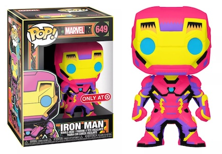Funko Pop Marvel Black Light Figures 2
