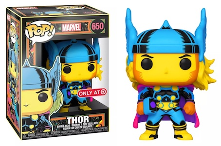Funko Pop Marvel Black Light Figures 3