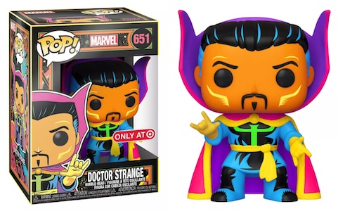 Funko Pop Marvel Black Light Figures 4