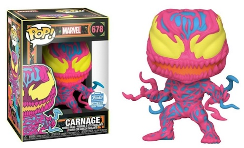Funko Pop Marvel Black Light Figures 6