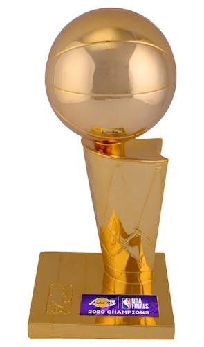 2020 Los Angeles Lakers NBA Finals Champions Memorabilia Guide 6