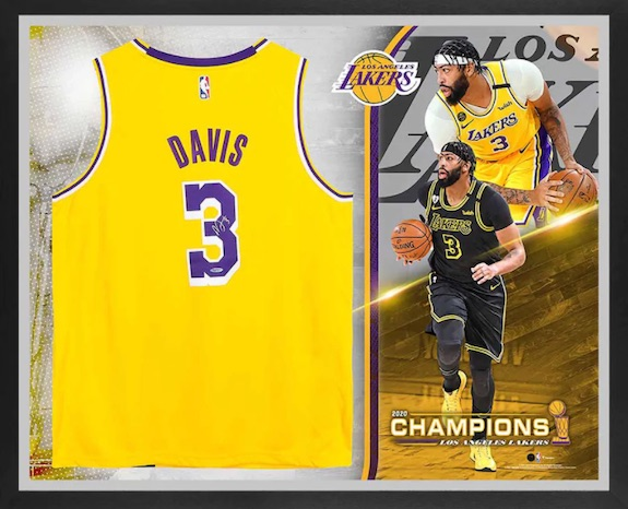 2020 Los Angeles Lakers NBA Finals Champions Memorabilia Guide 5