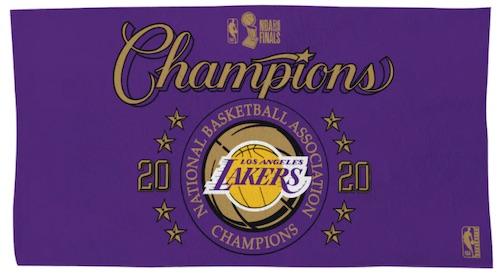 2020 Los Angeles Lakers NBA Finals Champions Memorabilia Guide 12