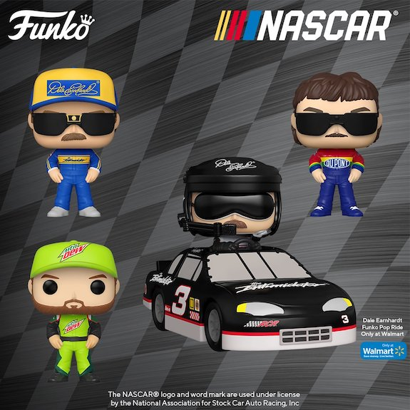 Funko Pop NASCAR Vinyl Figures 13