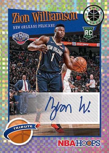 2019-20 NBA Hoops Premium Stock Box Set Basketball Cards 7
