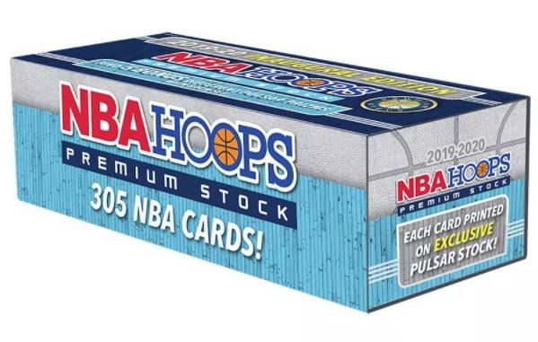 2019-20 NBA Hoops Premium Stock Box Set Basketball Cards 8