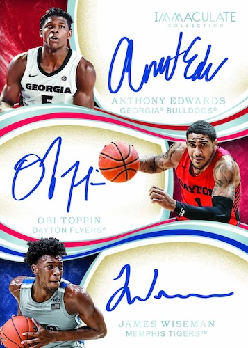 2020-21 Immaculate Collection Collegiate Basketball Cards 6