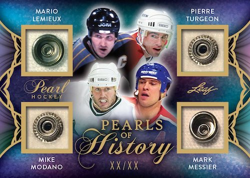 2020-21 Leaf Pearl Hockey Cards 4