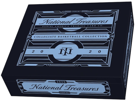 2020-21 Panini National Treasures Collegiate Basketball Cards - Checklist Added 3