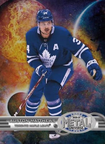 2020-21 Skybox Metal Universe Hockey Cards 2