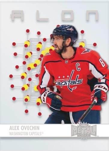 2020-21 Skybox Metal Universe Hockey Cards 4