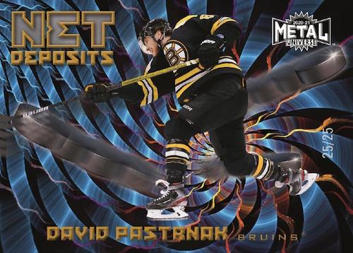 2020-21 Skybox Metal Universe Hockey Cards 6