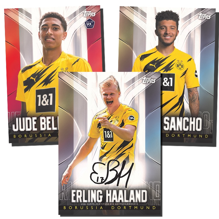 2020-21 Topps Chrome BVB Borussia Dortmund Soccer Cards 1