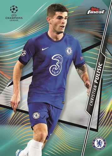 2020-21 Topps Finest UEFA Champions League Soccer Cards 3