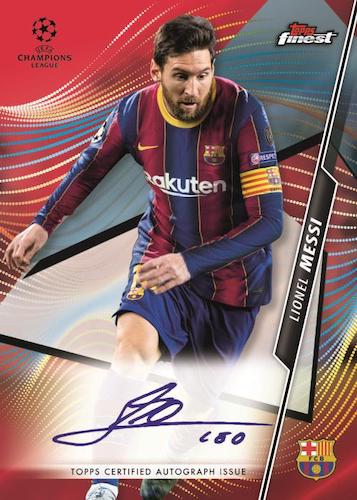 2020-21 Topps Finest UEFA Champions League Soccer Cards 5
