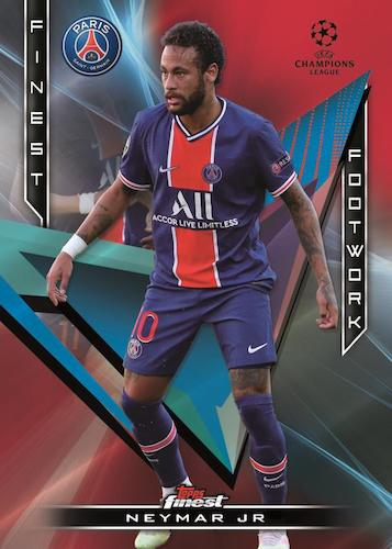 2020-21 Topps Finest UEFA Champions League Soccer Cards 4
