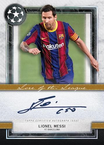 2020-21 Topps Museum Collection UEFA Champions League Soccer Cards 4