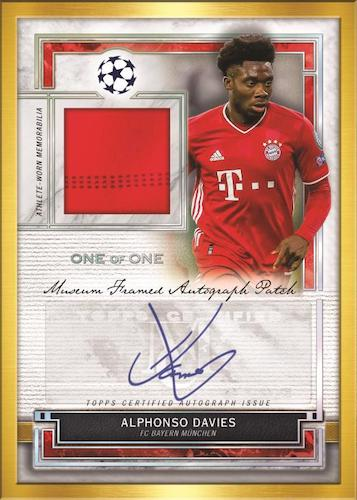 2020-21 Topps Museum Collection UEFA Champions League Soccer Cards 5