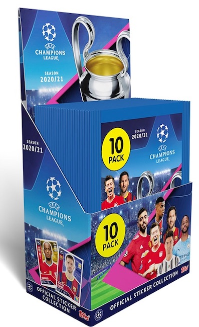 2020-21 Topps UEFA Champions League Sticker Collection 6