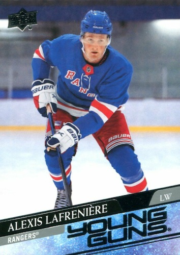 Top Alexis Lafrenière Rookie Cards and Prospects 1