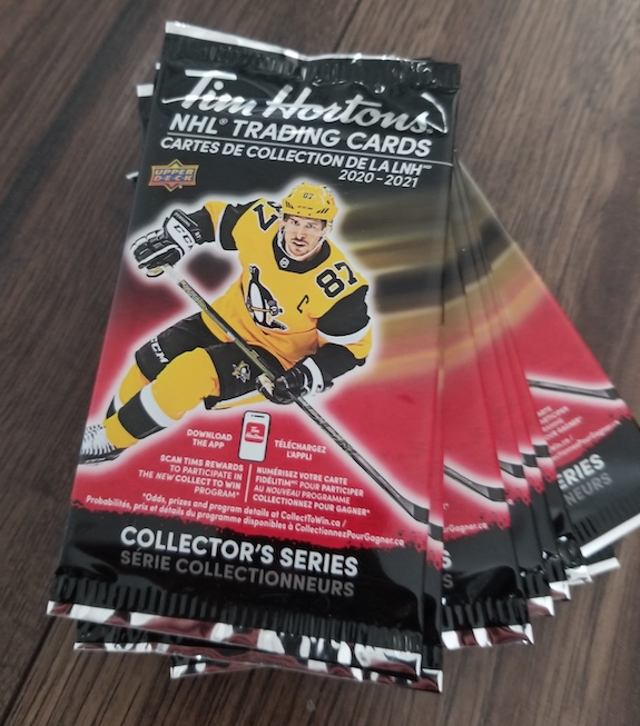 2020-21 Upper Deck Tim Hortons Hockey Cards 3