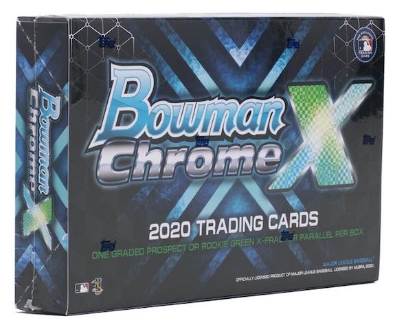 2020 Bowman Chrome X Baseball StockX Cards 5