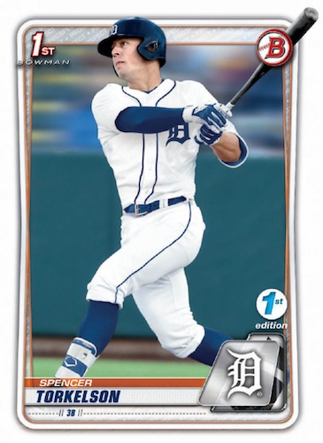 2020 Bowman Draft 1st Edition Baseball Cards 3