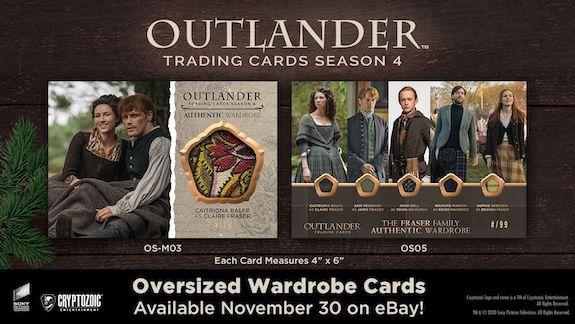 2020 Cryptozoic Outlander Season 4 Trading Cards - eBay Exclusives Wave 3 6
