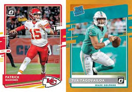 2020 Donruss Optic Football Cards - Checklist Added 3