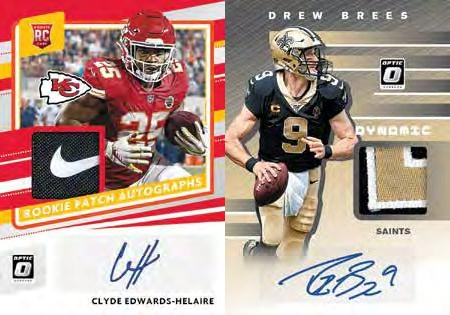 2020 Donruss Optic Football Cards - Checklist Added 6