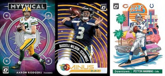 2020 Donruss Optic Football Cards - Checklist Added 4