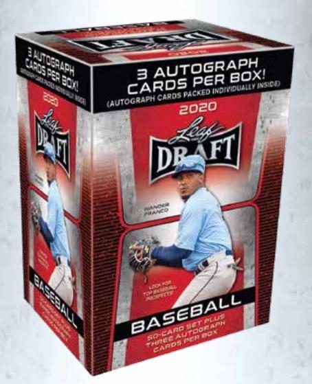 2020 Leaf Draft Baseball Cards - Checklist Added 4