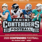 2020 Panini Contenders Football Cards - Final SP/SSP Ticket Checklist