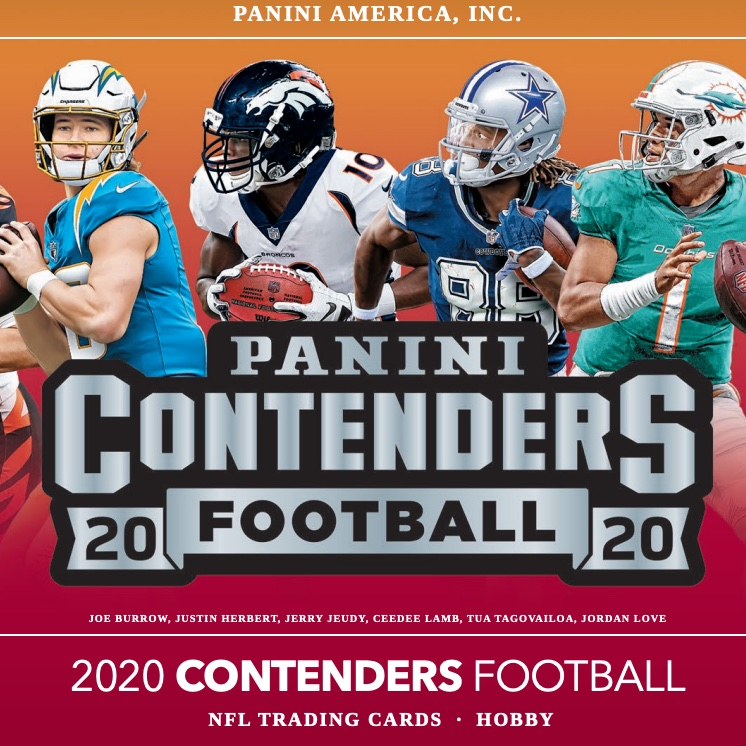 2020 Panini Contenders Football Checklist, NFL Set Info, Variations, Boxes