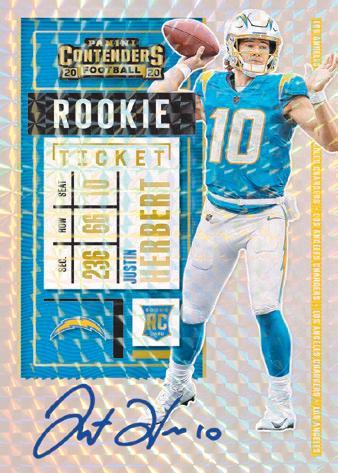 2020 Panini Contenders Football Cards - Checklist Added 8