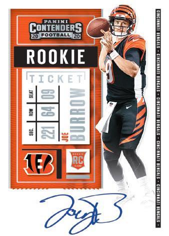 2020 Panini Contenders Football Cards - Final SP/SSP Ticket Checklist 6