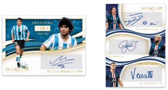 2020 Panini Immaculate Collection Soccer Cards - Checklist Added 5