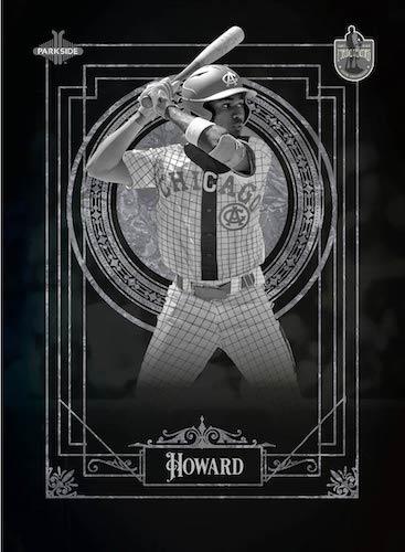 2020 Parkside Negro Leagues Centennial Draft Class Baseball Cards 1