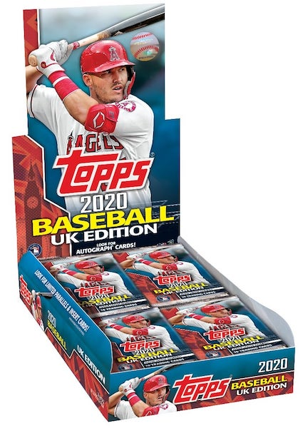 2020 Topps Baseball UK Edition Cards 7