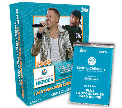2020 Topps Seattle Children's Heroes Trading Cards 6